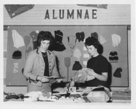 Alumnae Booth
