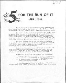 For The Run Of It- 1984